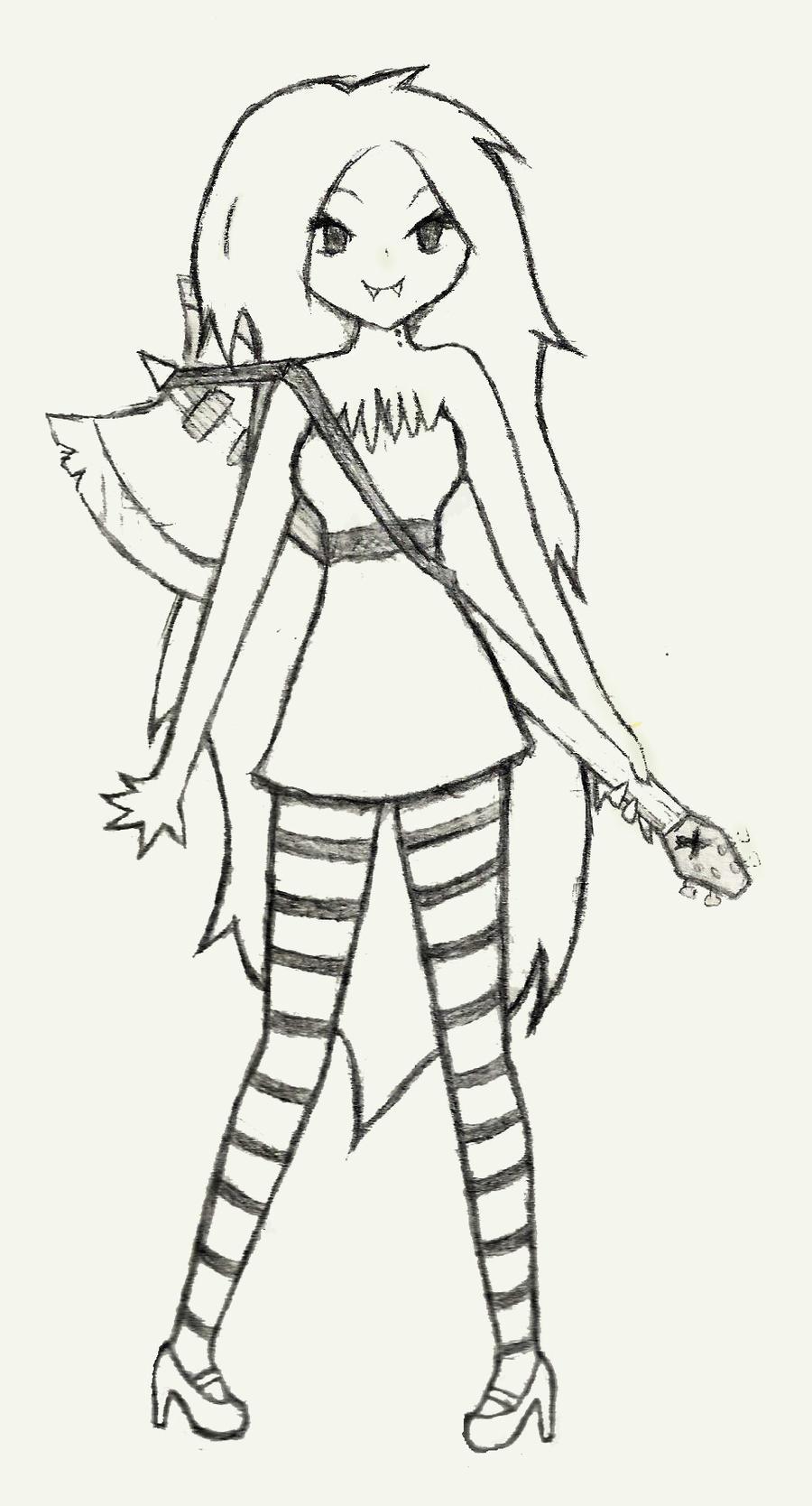 Marceline The Vampire Queen by hiperanimefreek on DeviantArt