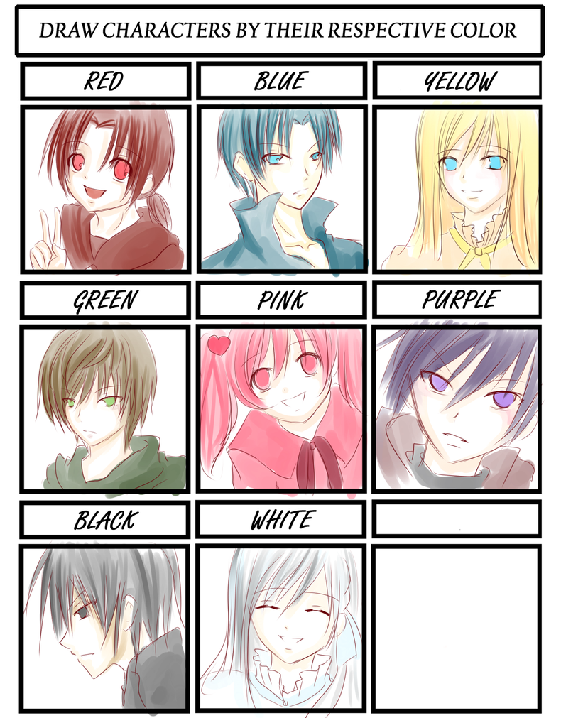 Color Meme by Aki17
