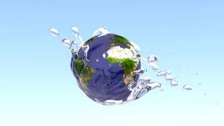 World falls in WaterDrop