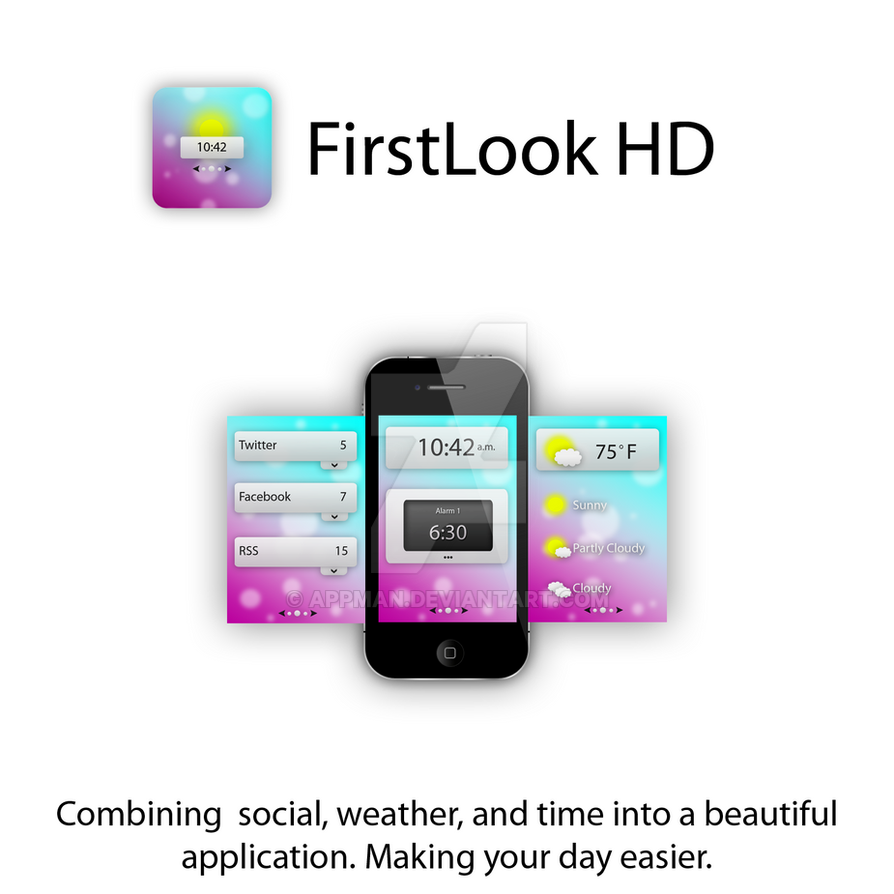 Firstlook Hd App Idea By Appman On Deviantart