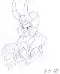 Loki New Plan by PencilDrawnArt