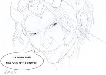 Vote Loki President by PencilDrawnArt