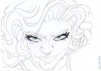 Sylvie Lady Enchantress by PencilDrawnArt