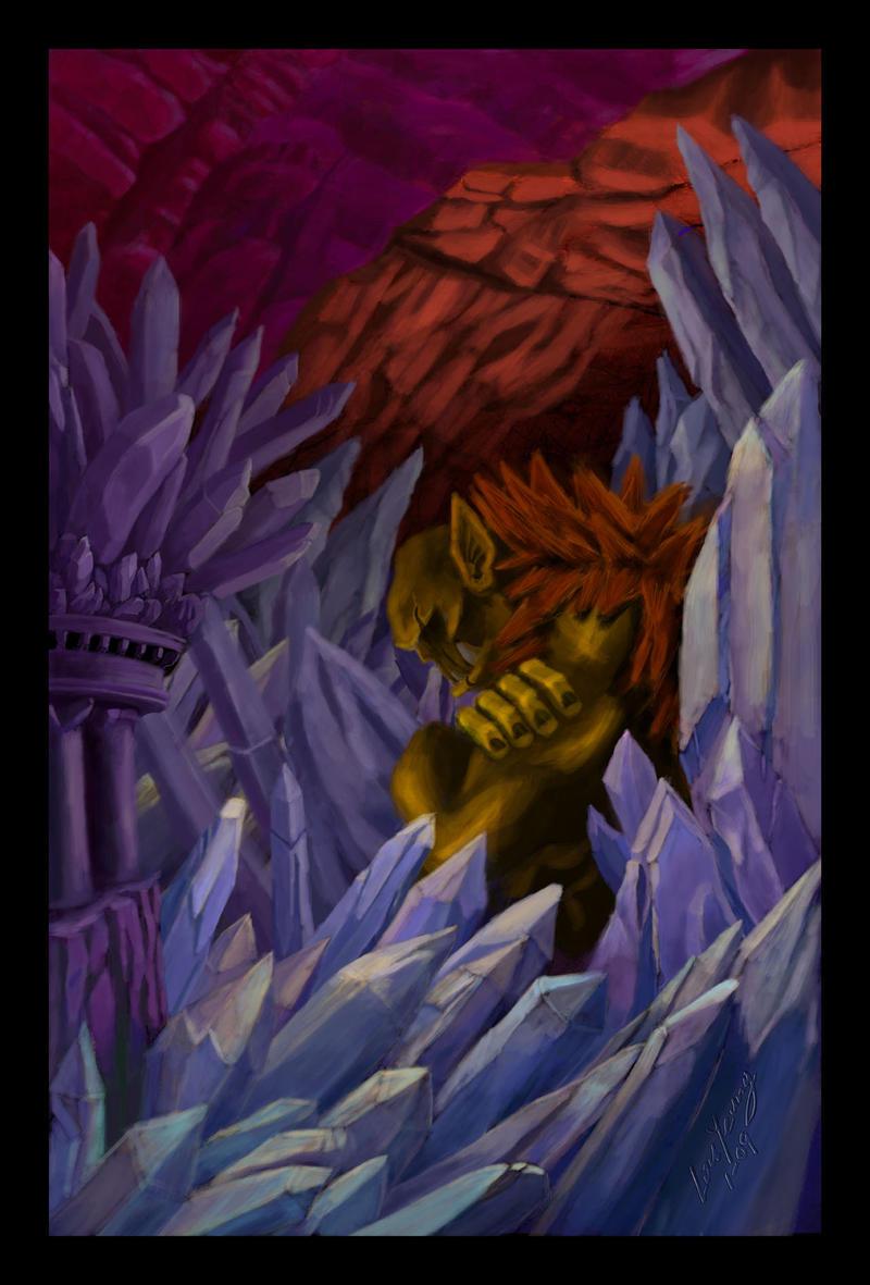 sleeping ogre by lousworld