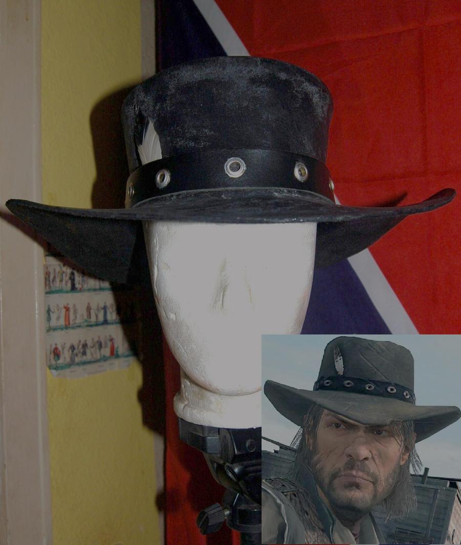 John Marston Hat by BrimstonePreacher