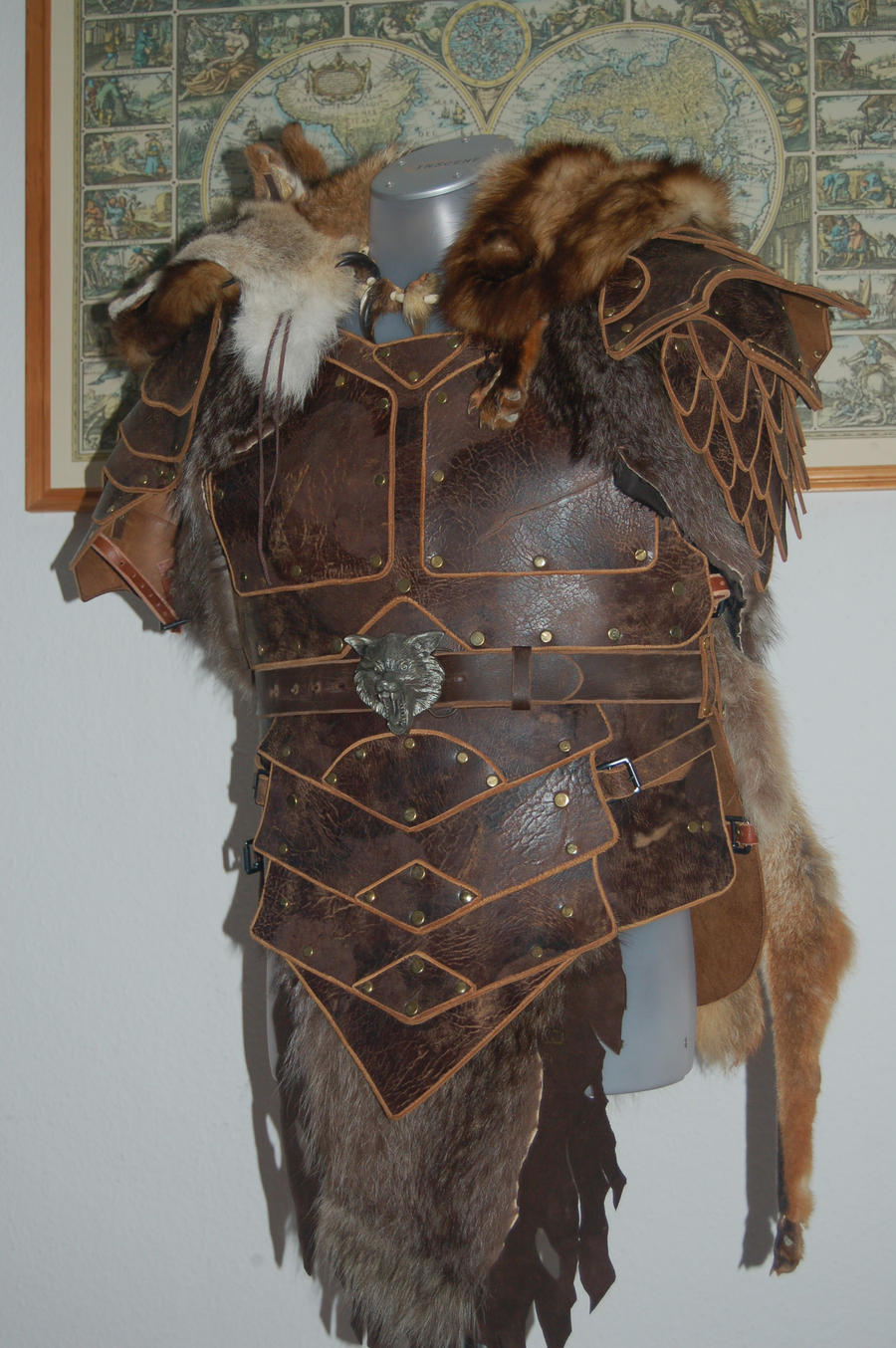 Leatherarmor Northwolf by BrimstonePreacher