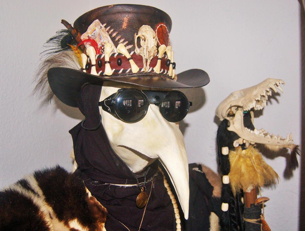 Voodoo Hat by BrimstonePreacher