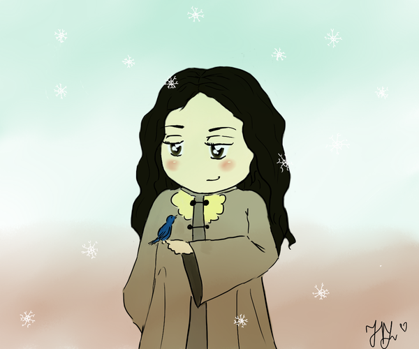 Snow and the snow by Lazy-Luba