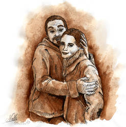 Victorian couple by Romaeangel
