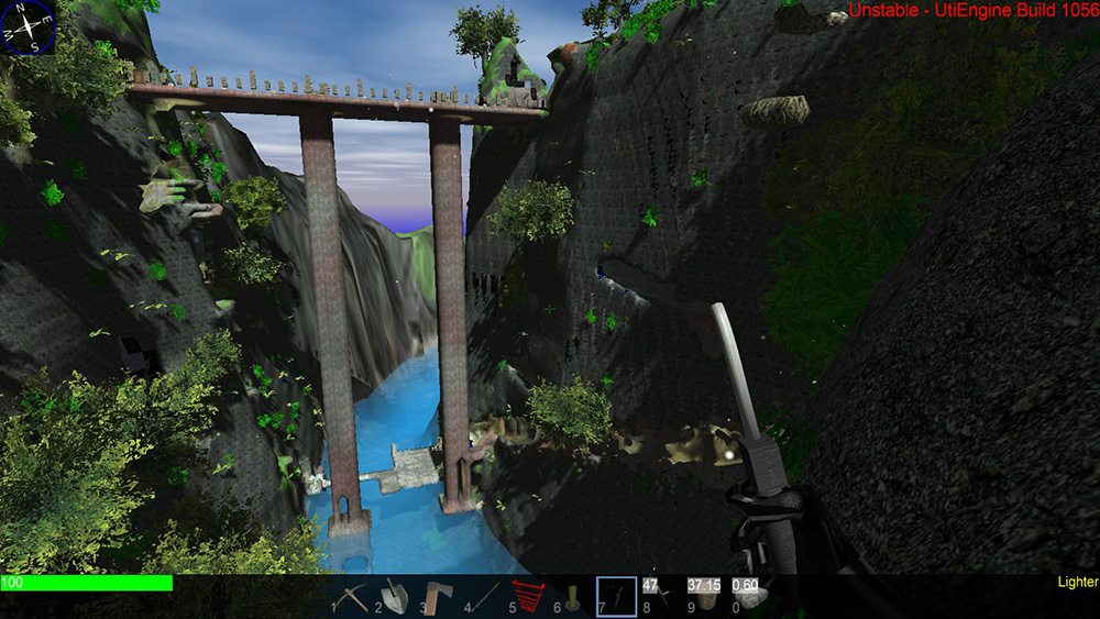 Huge Bridge in Synthetic World by Shyruban