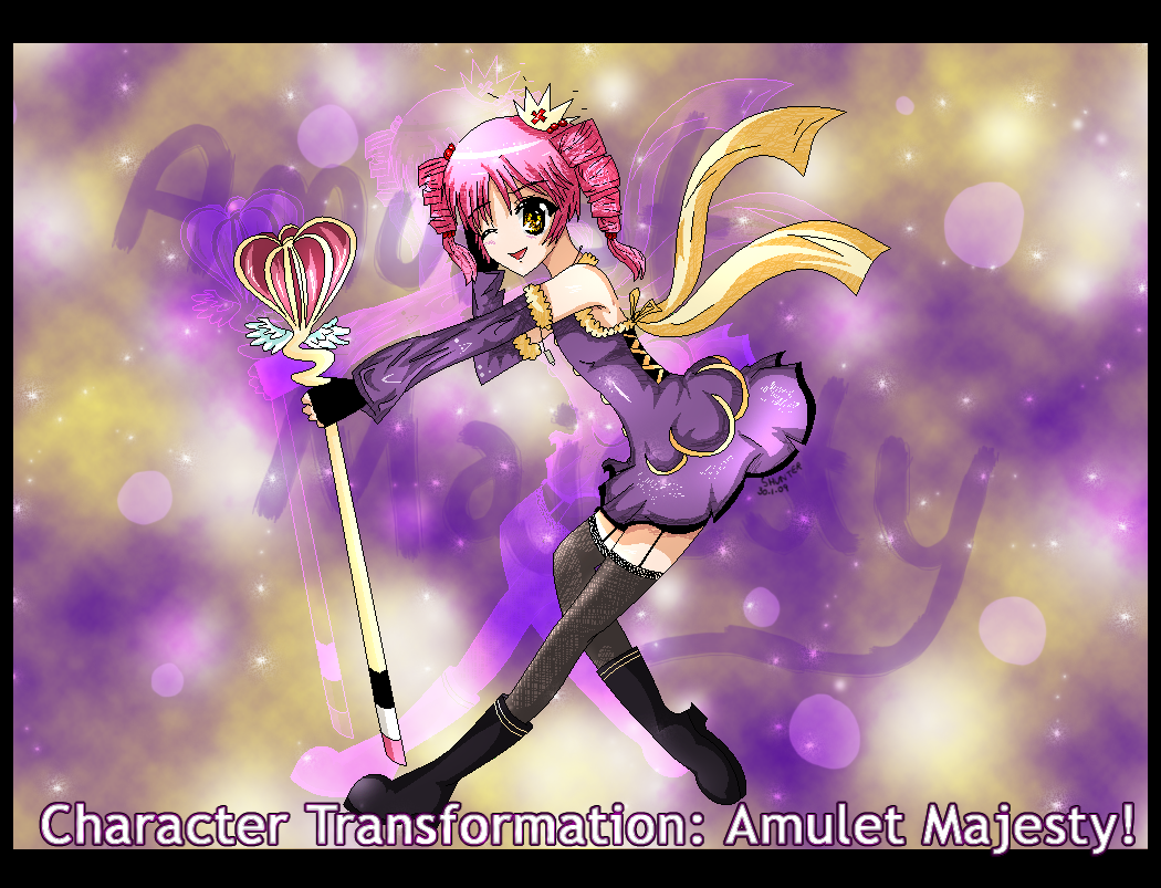 Shugo Chara Amulet Sakura