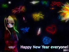 Happy New Year by Shellahx