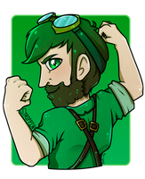 Yogscard - Sam/TheStrippin by Shellahx