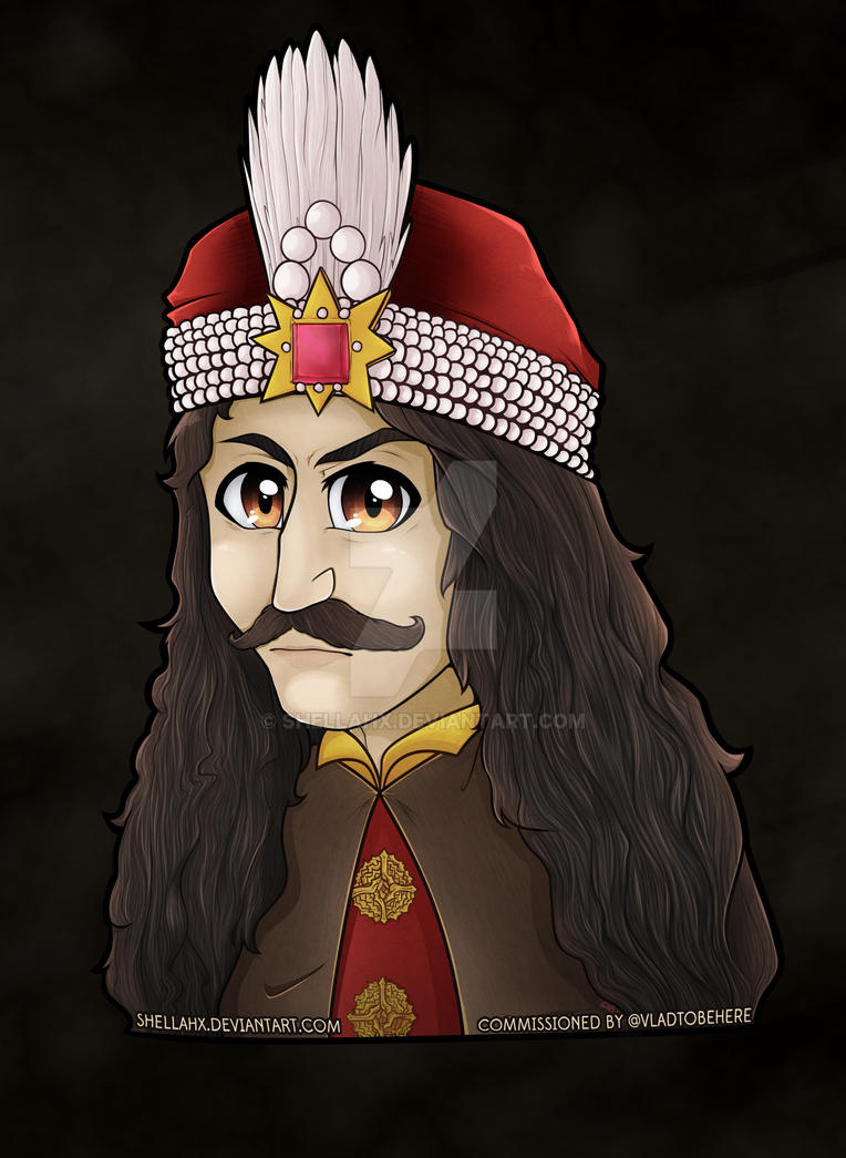 COMMISSION - Vlad The Impaler Portrait by Shellahx