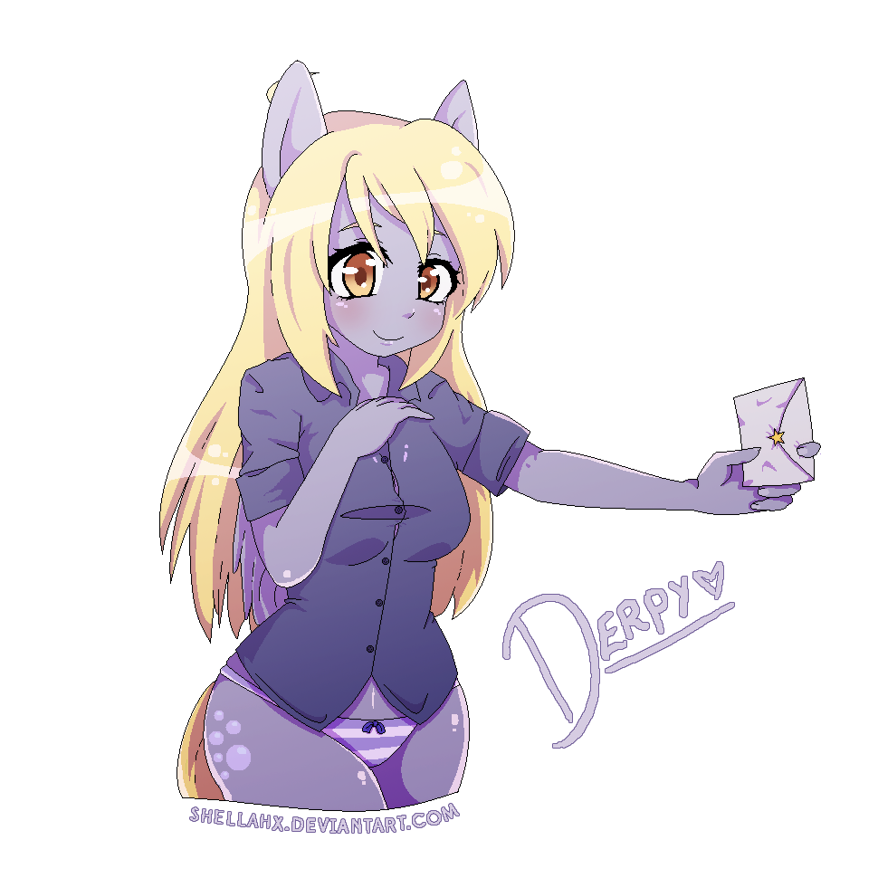 I miss the MS Paint days... (Derpy) by Shellahx