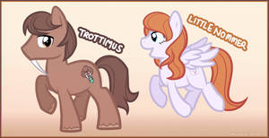 Trottimus n' LittleNommer Ponies by Shellahx
