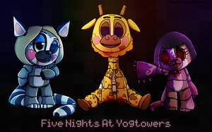 Five Nights at Yogtowers by Shellahx