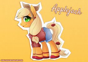 My Little 50's - Applejack by Shellahx
