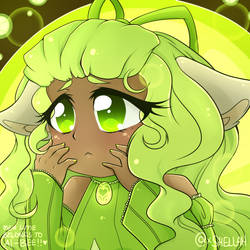 FANART - Mew Lime: Design by Ai-Bee by Shellahx