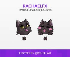 TWITCH EMOTES - RACHAELFX