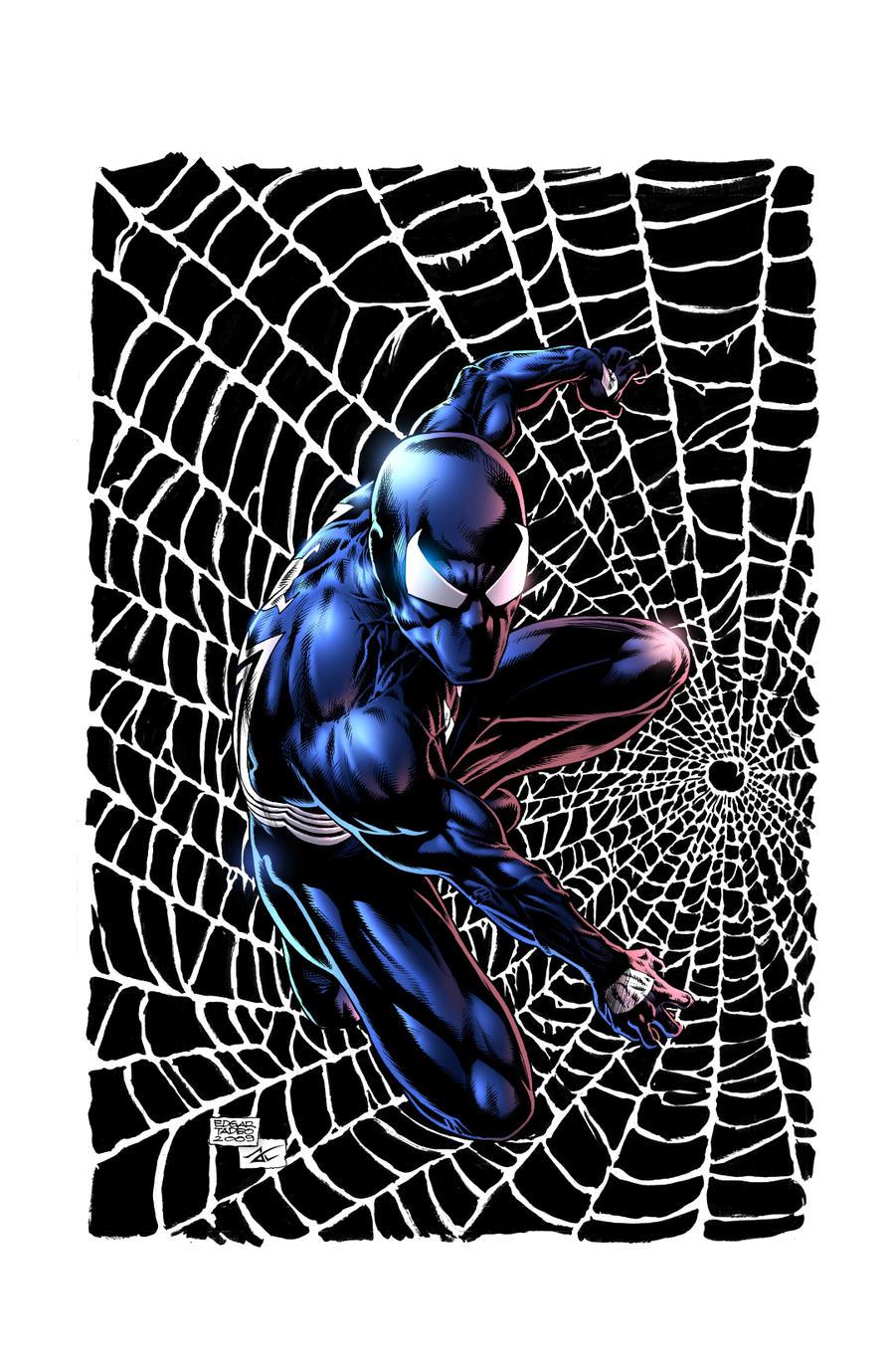 Spider-Man Black Suit! by JackLavy on DeviantArt