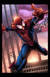 Ultimate Spider-Man - Avila/Kordos/Lavy by JackLavy