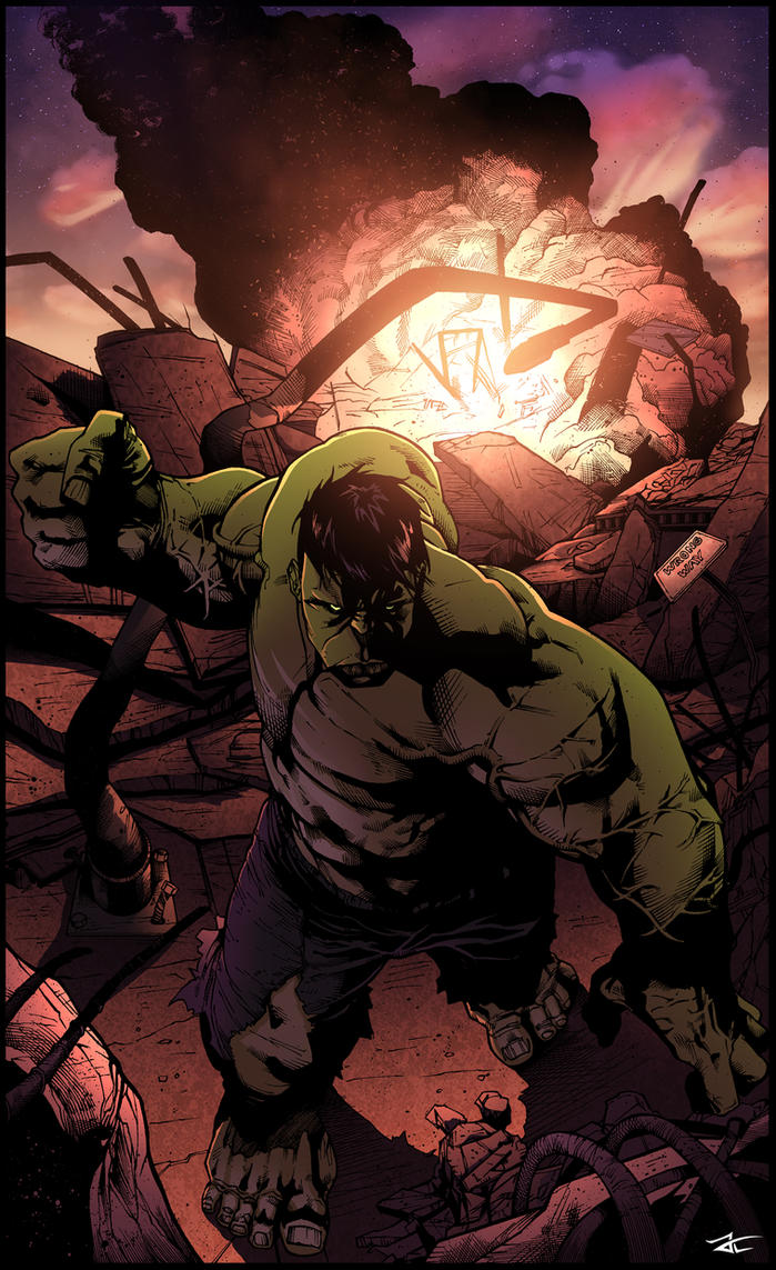 The HULK - Shaw / Graham / Lavy by JackLavy