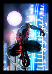 Spider-Man 2099 by JackLavy