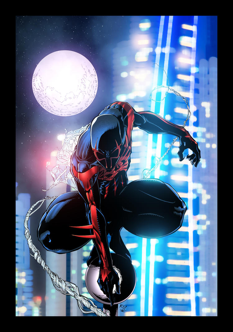 Spider man 2099 by jacklavy on deviantart for How to get a job at michaels craft store