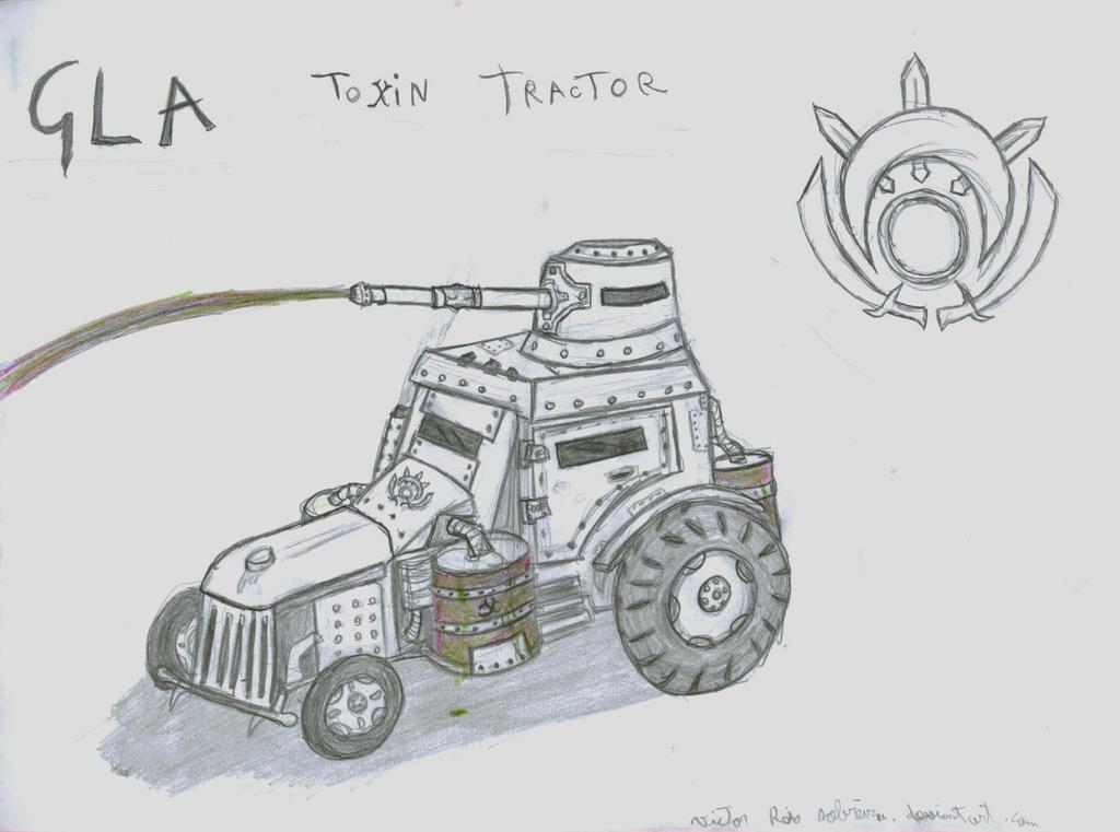 Gla Toxin Tractor by VictorReisSobreira