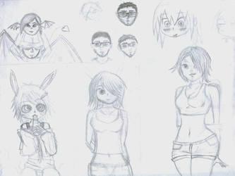 Sketches by VictorReisSobreira