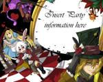 Alice in Wonderland Birthday Invitation Card