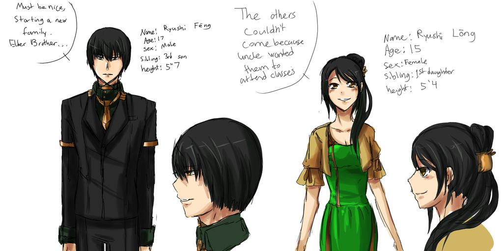 Dafter-Story: Shino's Siblings by xYorutenshi