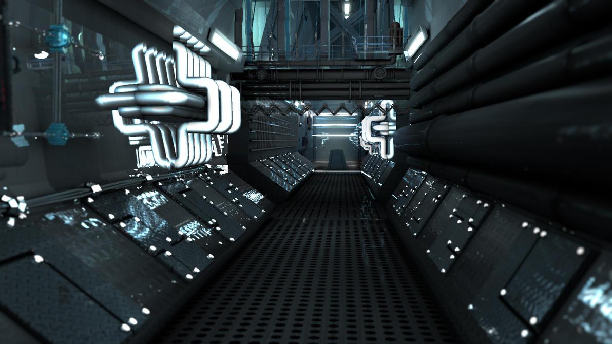 3d wallpaper of technology