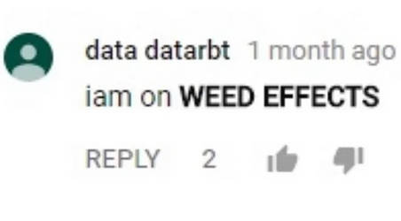 WEED EFFECTS