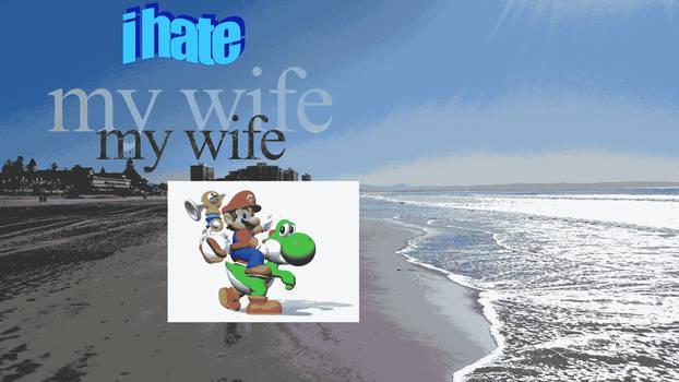 i hate my wife my wife