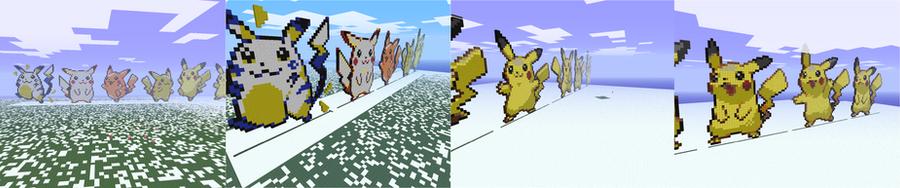 Pikachu in Wonderland by bojangle387