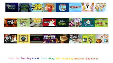CN original cartoons scorecard (P1) blank template
