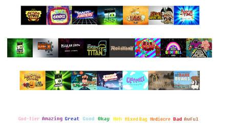 CN original cartoons scorecard (P2) blank template