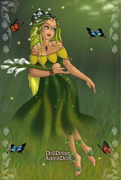 Earth Element Fairy by demonnightkittyninja on DeviantArt