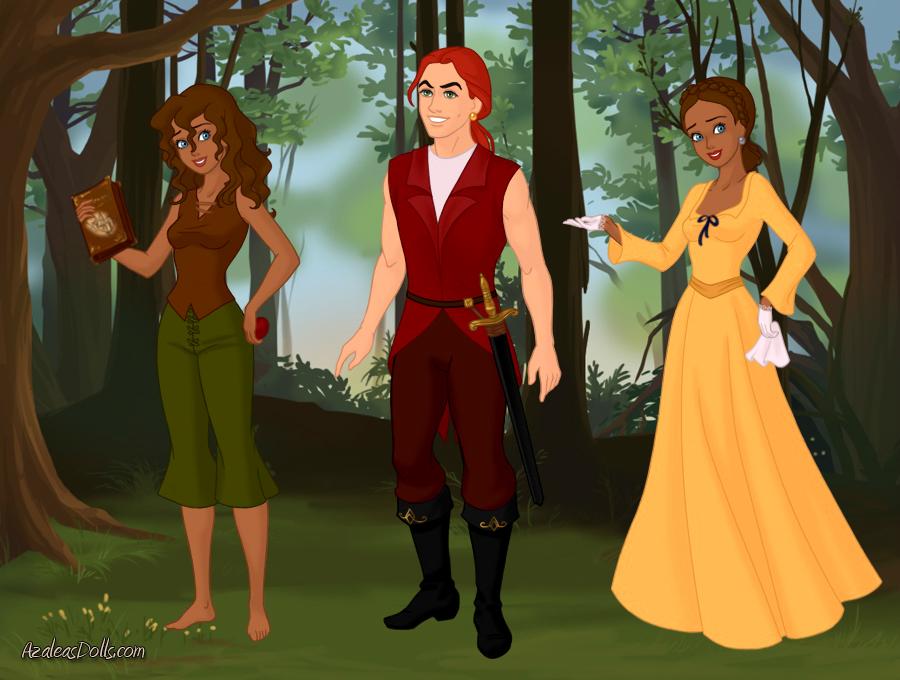 Jade and Killian by demonnightkittyninja
