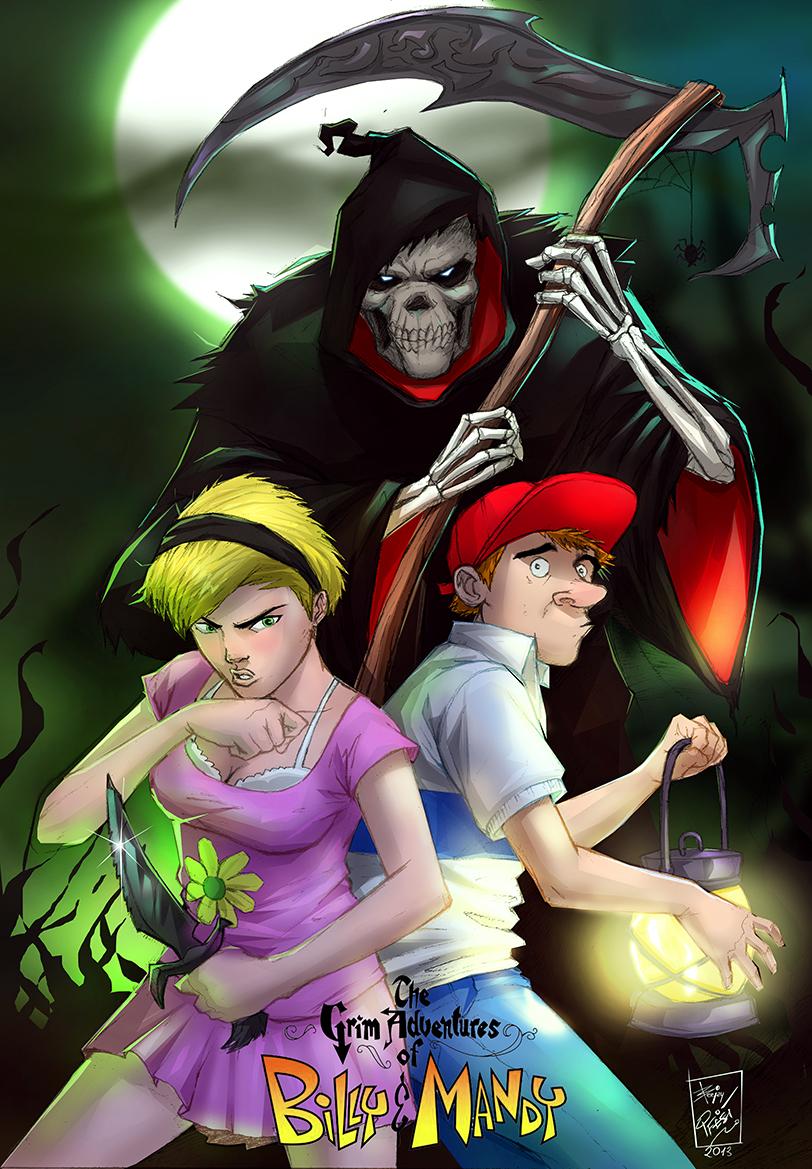 The Grim Adventures Of Billy And Mandy By Artnerdx On Deviantart