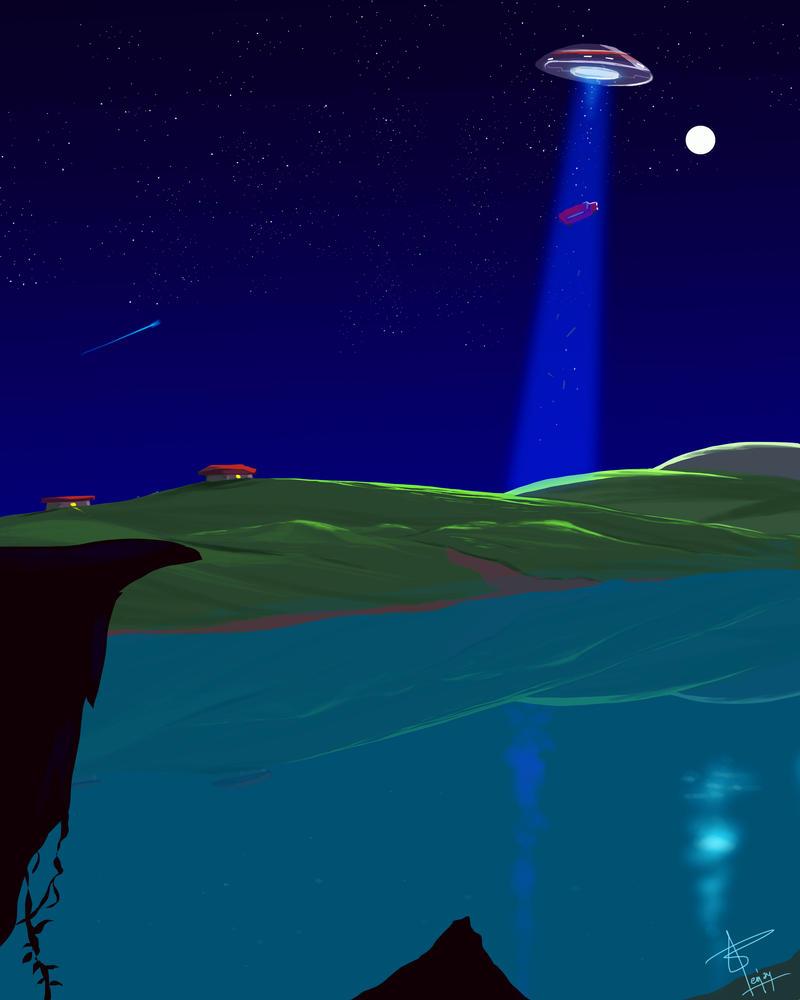 UFO by artnerdx