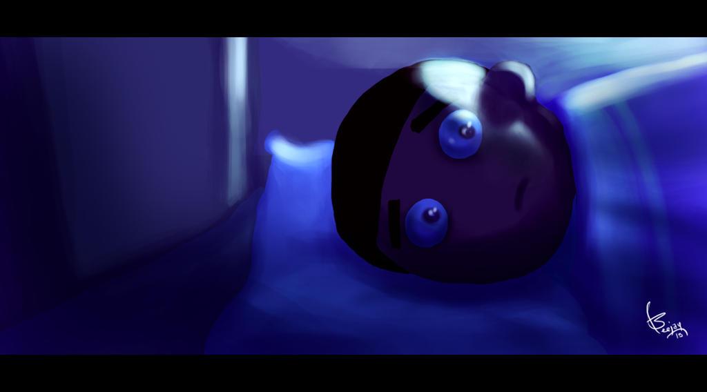 cant sleep by artnerdx