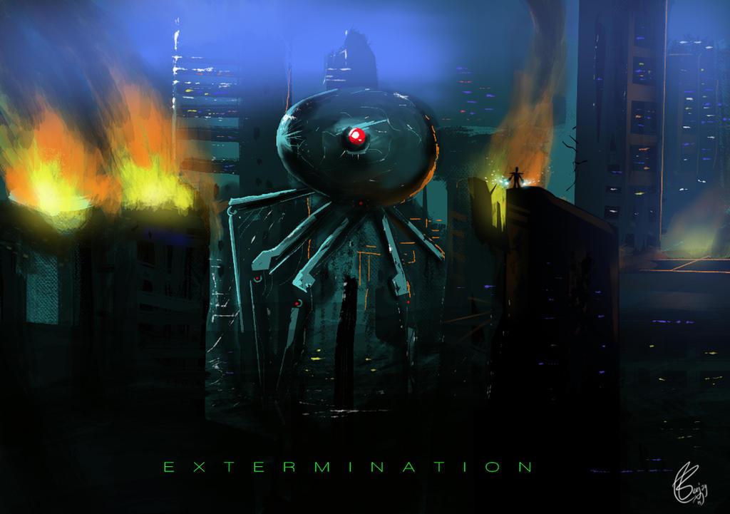 EXTERMINATION by artnerdx