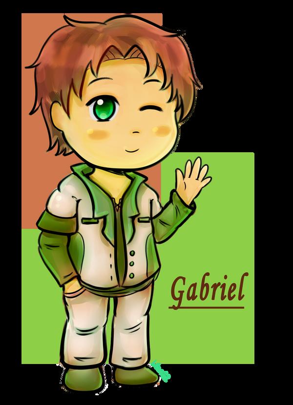 AT: Gabriel by marimariakutsu