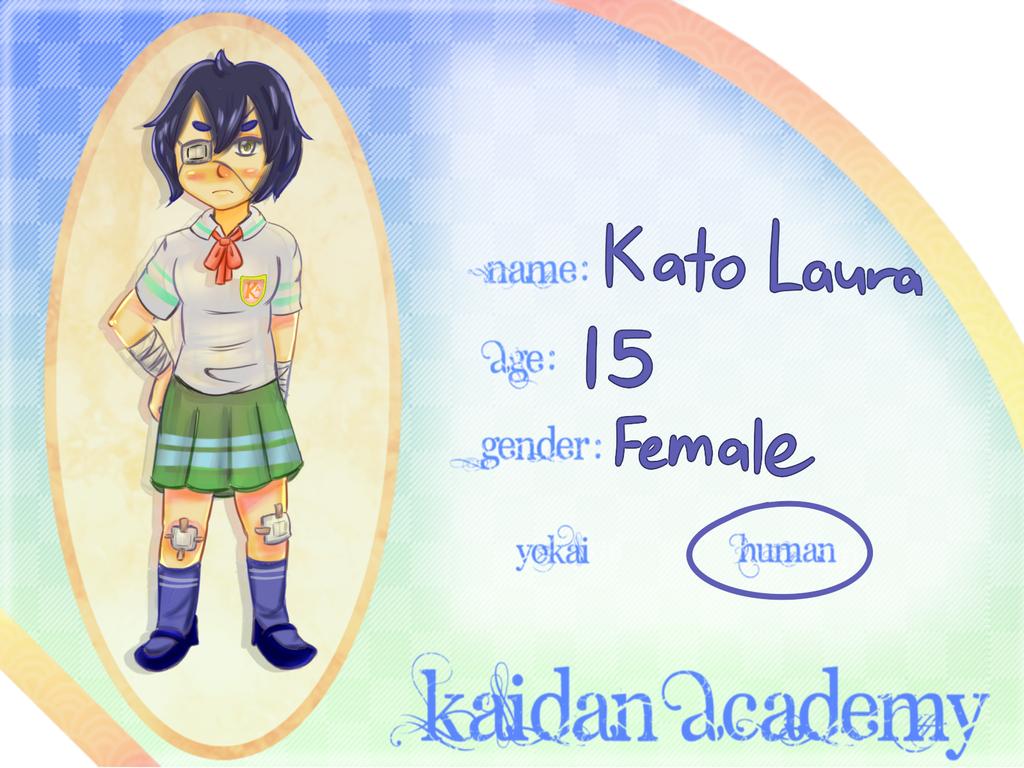 Kaidan Academy App- K A T O, L A U R A by marimariakutsu