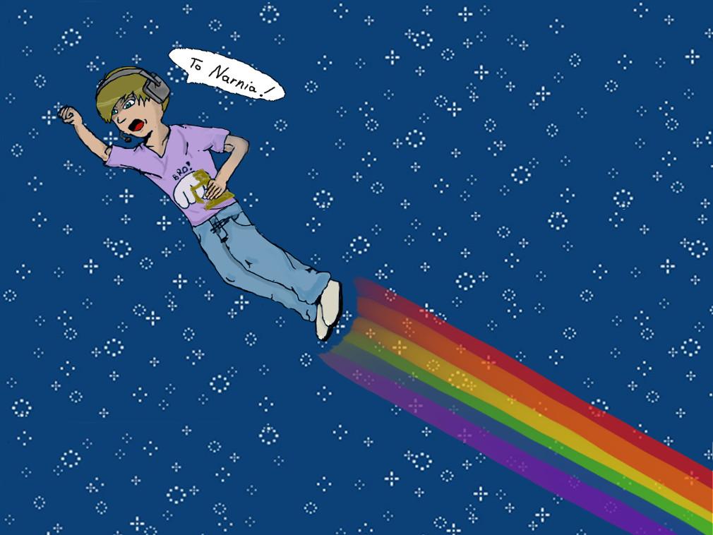 Nyan Pewdiepie by BXTREME814