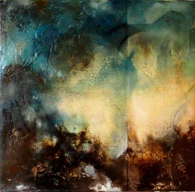 Earthen Angel by HeatherHowellArt