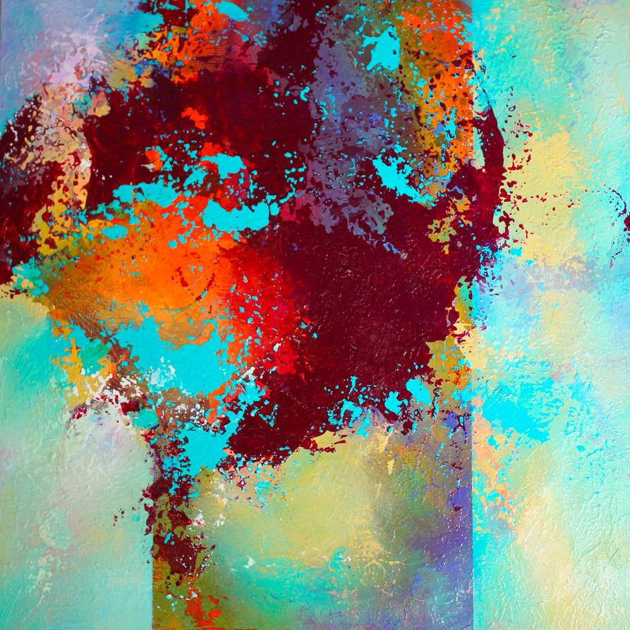 Apricot Tree II by HeatherHowellArt